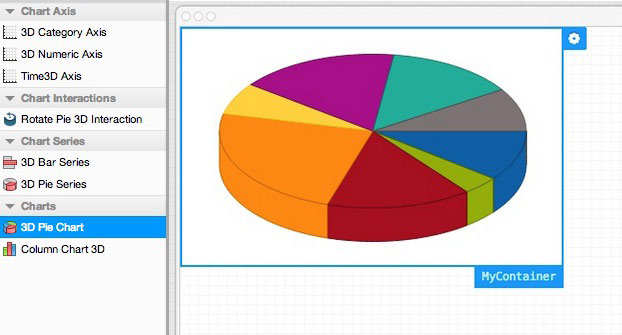 Extjs 5 Pie Chart Example: What7s New | Architect 3,Chart