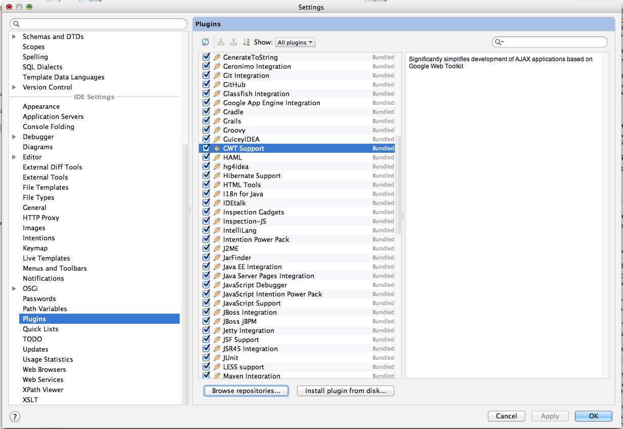 Install GWT Plugin | GXT 4 x