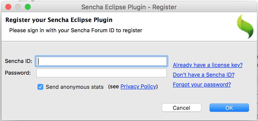 Sencha Eclipse Plugin | IDE Plugins