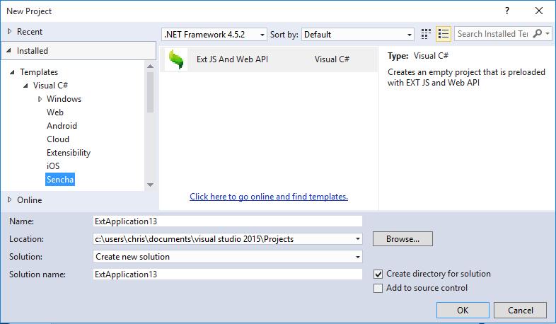 Sencha Visual Studio Plugin | IDE Plugins