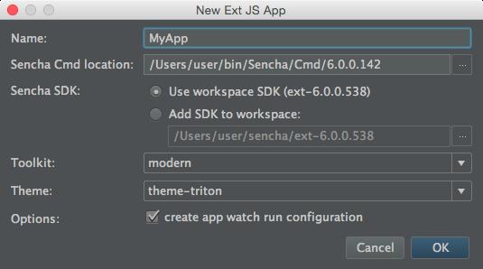 Sencha JetBrains Plugin   IDE Plugins